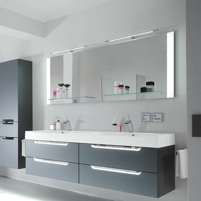 Badezimmer Spiegel Möbel Busch