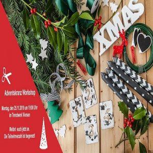 Adventskranz- Workshop