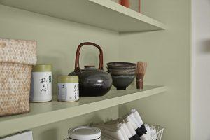 3D Küchenplaner, Regal, grün