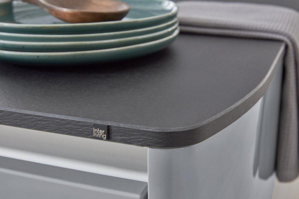 3D Küchenplaner, grau, Arbeitsplatte