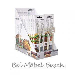 Hamburgerspieße bei Möbel Busch in Nettetal