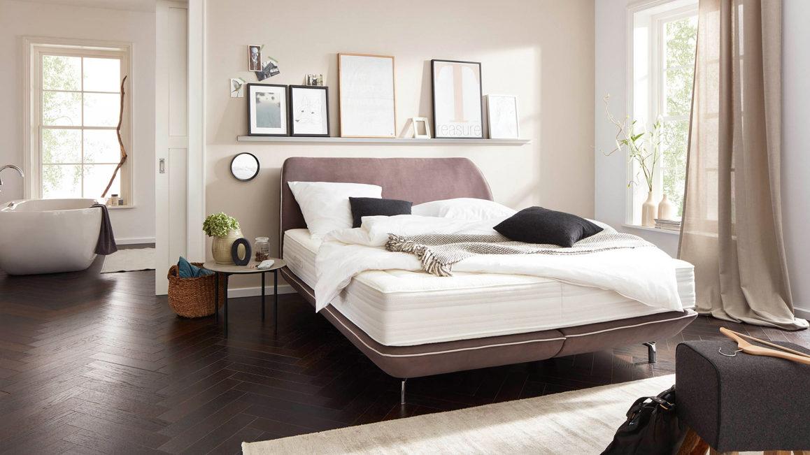 Schlafzimmer Idee, modern, freundlich, hell