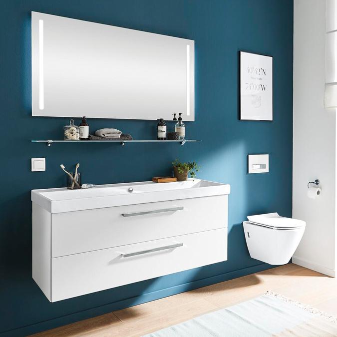 Modernes Badezimmer bei Möbel Busch